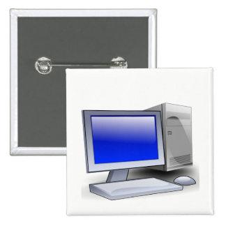 Desktop Computer Button