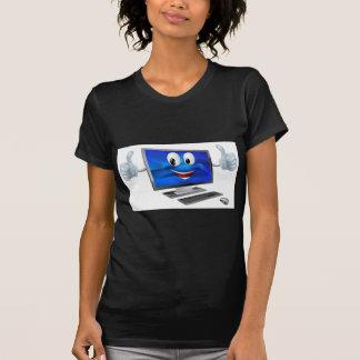 Desktop computer mascot t shirts