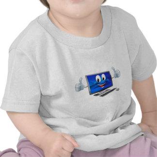 Desktop computer mascot t-shirts