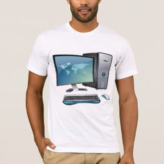 Desktop Computer Mens T-Shirt