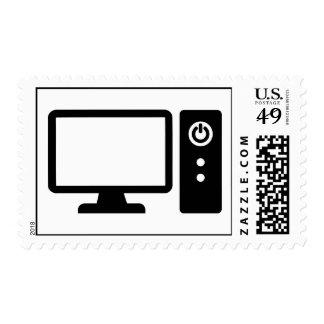 Desktop computer stamp