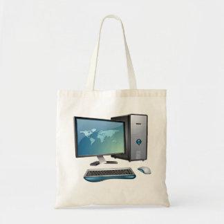 Desktop Computer Tote Bag