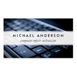 Desktop Laptop Computer Repair Technician Business Card