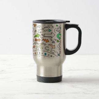 Desktop pattern art graphic design travel mug
