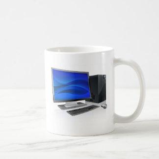 Desktop PC computer workstation Mug