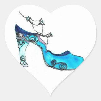 Deslizador de cristal calcomania de corazon personalizadas