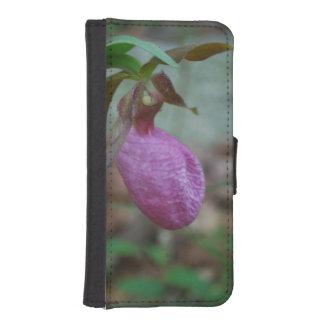 Deslizador de señoras rosadas fundas cartera para teléfono
