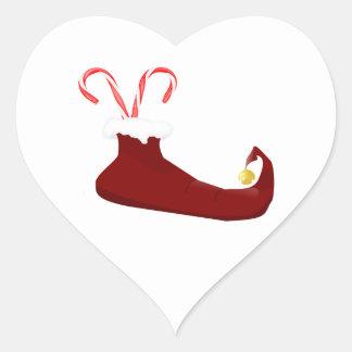 Deslizador rojo del duende con el pegatina del