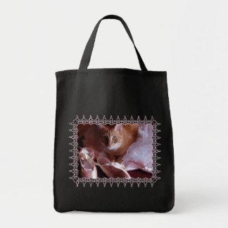 Deslizadores del gato y del ballet bolsa tela para la compra