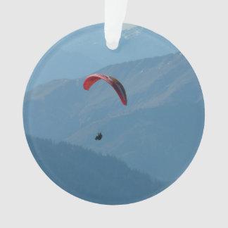 Deslizamiento de Para del Paragliding del ala