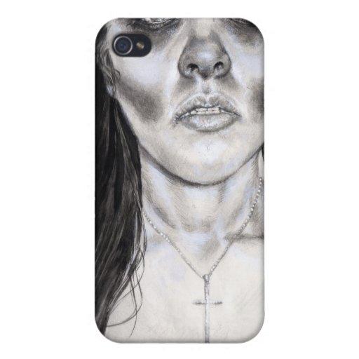 """Deslizando"" la caja de la serie iPhone 4 Fundas"