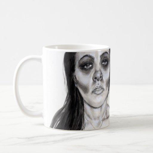 """""""Deslizando"""" la taza de la serie"""