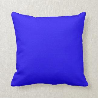 Deslumbramiento azul cojines