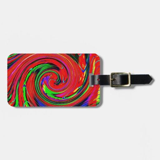 Deslumbramiento, brillante. alegre, colorido, extr etiquetas de maletas