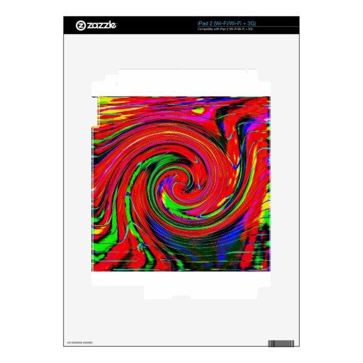 Deslumbramiento, brillante. alegre, colorido, extr skins para iPad 2
