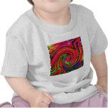 Deslumbramiento, brillante. alegre, colorido, extr camisetas