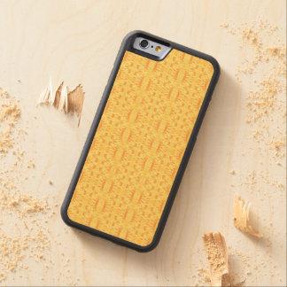 Deslumbramiento del verano - caja del teléfono funda de iPhone 6 bumper arce