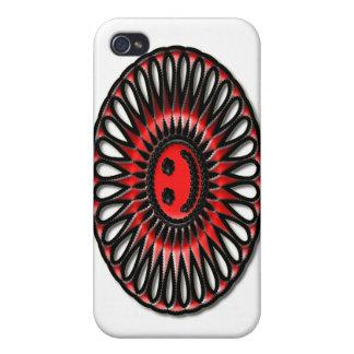Deslumbramiento oval #1 iPhone 4/4S carcasa