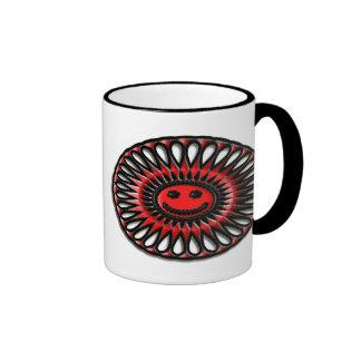 Deslumbramiento oval #1 tazas de café
