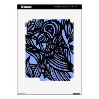 Deslumbramiento potente del abrazo positivo pegatina skin para iPad 3