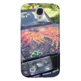 Deslumbramiento Razzberry - coche de la conciencia Funda Samsung S4