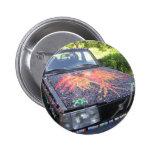Deslumbramiento Razzberry - coche de la conciencia Pins