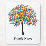 Deslumbre el árbol de familia - personalizar alfombrilla de ratón