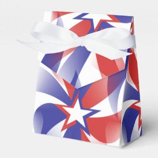 Deslúmbreme caja patriótica del favor del © - día caja para regalo de boda