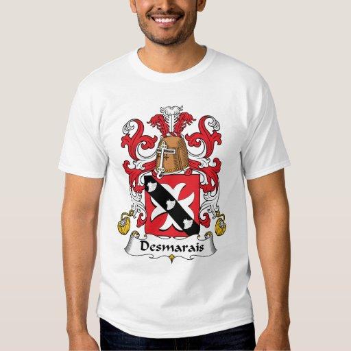 Desmarais Family Crest T-shirts