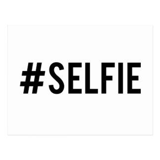 Desmenuce el selfie de la etiqueta, arte de la postales