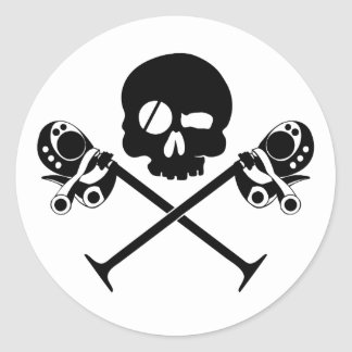 Desmo Skull Sticker