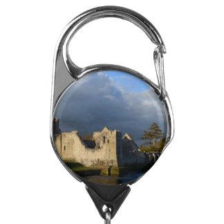 Desmond Castle in Adare Ireland Badge Holder