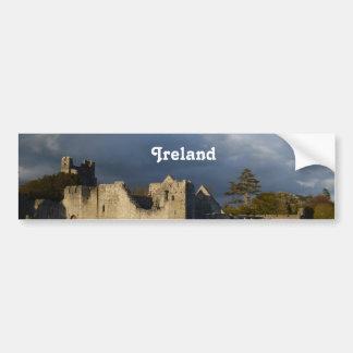 Desmond Castle in Adare Ireland Bumper Sticker
