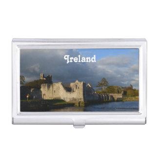 Desmond Castle in Adare Ireland Business Card Case