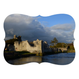 Desmond Castle in Adare Ireland Card