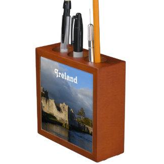 Desmond Castle in Adare Ireland Desk Organizer