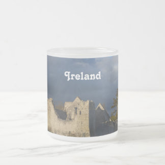 Desmond Castle in Adare Ireland Frosted Glass Coffee Mug