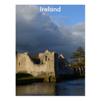 Desmond Castle in Adare Ireland Postcard