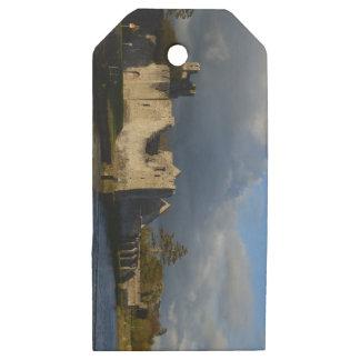 Desmond Castle in Adare Ireland Wooden Gift Tags