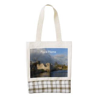 Desmond Castle in Adare Ireland Zazzle HEART Tote Bag
