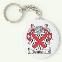 Desmond Family Crest Keychain