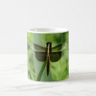 Desnatadora de la viuda, taza de la libélula