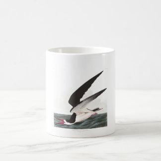 Desnatadora negra de la placa 323 de Audubon Taza De Café