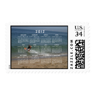 Desnatar la resaca; Calendario 2012 Estampillas