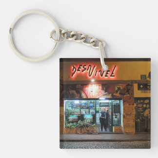 DesNivel - Dinner in Buenos Aires Keychain