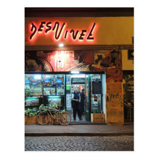 DesNivel - Dinner in Buenos Aires Postcard