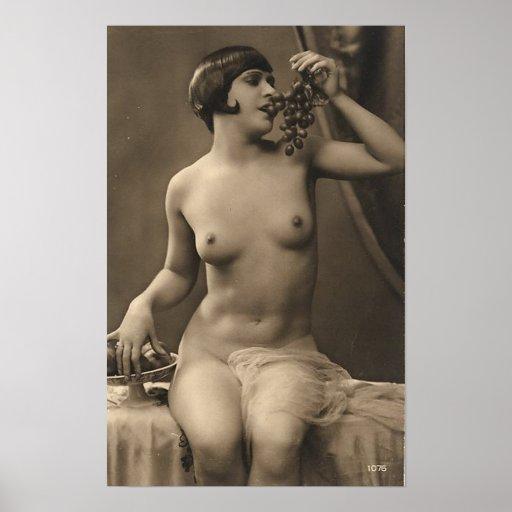 Desnudos del vintage (1441) póster