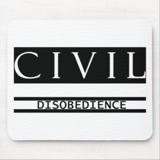 Desobediencia civil alfombrilla de ratón