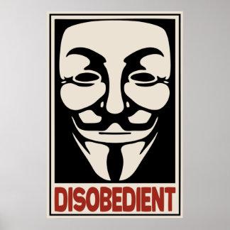 Desobediente Póster