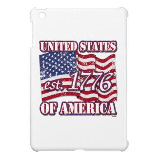 Desolación de la bandera de los Estados Unidos de  iPad Mini Cobertura